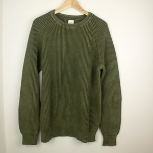 Straight Cable Knit Sweater
